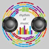 Rhythm of music Stock Photo