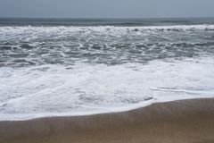Rhythm of Ocean waves. In nature Stock Photography