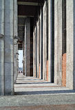 Rhythm Of Architectural Lines. Royalty Free Stock Photo