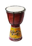 Rhythm percussion instrument bongo drum Royalty Free Stock Photos