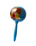 Rhythm percussion instrument maraca Royalty Free Stock Photo
