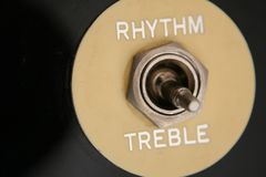 Rhythm and treble Royalty Free Stock Image
