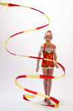 Rhythmic gymnastic Royalty Free Stock Photo