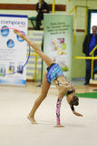 Rhythmic gymnastic Royalty Free Stock Photos