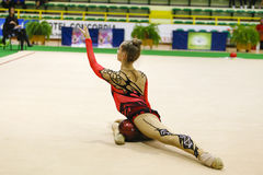 Rhythmic gymnastic Stock Photography