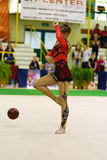 Rhythmic gymnastic Stock Image
