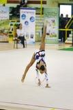 Rhythmic gymnastic Stock Images