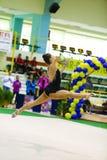 Rhythmic gymnastic Royalty Free Stock Photos