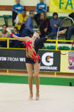 Rhythmic gymnastic Royalty Free Stock Images