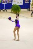 Rhythmic gymnastic Royalty Free Stock Photo