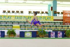 Rhythmic gymnastic Royalty Free Stock Photography