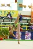 Rhythmic gymnastic Stock Photography