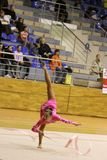 Rhythmic gymnastics Royalty Free Stock Images