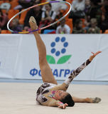 Rhythmic Gymnastics Stock Images