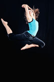 Rhythmic Gymnastics Royalty Free Stock Image