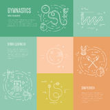 Rhythmic Gymnastics Concept Royalty Free Stock Photography