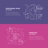 Rhythmic Gymnastics Concept Stock Image