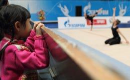 Rhythmic Gymnastics Grand Prix Cup Royalty Free Stock Images