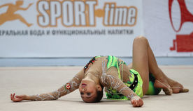 Rhythmic Gymnastics Grand Prix Cup Stock Image