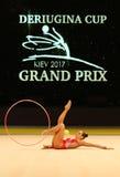 Rhythmic Gymnastics Grand Prix in Kiev, Ukraine Royalty Free Stock Image