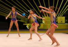 Rhythmic Gymnastics Grand Prix in Kiev, Ukraine Royalty Free Stock Photography
