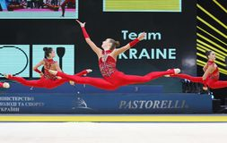 Rhythmic Gymnastics Grand Prix in Kyiv, Ukraine