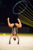 Rhythmic Gymnastics International Cup in Kyiv Royalty Free Stock Photography