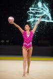 Rhythmic Gymnastics International Cup in Kyiv Stock Images