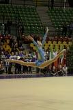 Rhythmic gymnastics Italian Stock Image