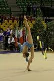 Rhythmic gymnastics Italian Royalty Free Stock Image