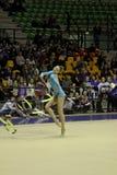 Rhythmic gymnastics Italian Stock Photos