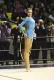 Rhythmic gymnastics Italian Stock Photo