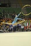 Rhythmic gymnastics Italian Stock Photography