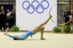 Rhythmic gymnastics Italian Stock Images
