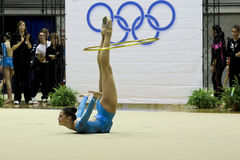 Rhythmic gymnastics Italian Stock Photos