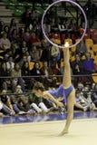 Rhythmic gymnastics Italian Royalty Free Stock Photography