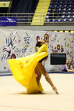 Rhythmic gymnastics Italian Championships Royalty Free Stock Photos