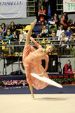 Rhythmic gymnastics Italian Championships Royalty Free Stock Images