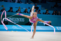 Rhythmic Gymnastics World Championship Stock Image