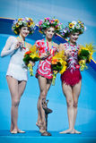 Rhythmic Gymnastics World Championship Royalty Free Stock Photography