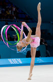 Rhythmic Gymnastics World Championship Stock Photography