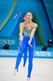 Rhythmic Gymnastics World Championship Stock Images