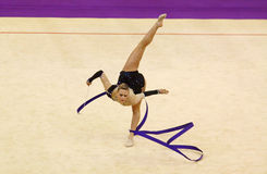 Rhythmic Gymnastics World Cup Royalty Free Stock Photos