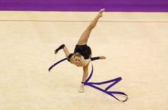 Rhythmic Gymnastics World Cup Royalty Free Stock Photos