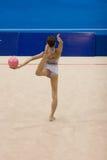 Rhythmische Gymnastik Stockfotografie