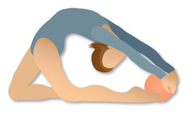 Rhythmische Gymnastik: Kugel Lizenzfreies Stockbild