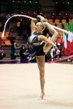 Rhythmisches gymnastisches Lizenzfreies Stockbild