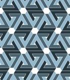 Rhythmisches strukturiertes endloses Pastellmuster, Grayscale Lizenzfreie Stockbilder