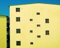 Rhythmus der Fenster Stockfoto