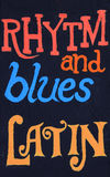 Rhytm e blu, latini fotografia stock